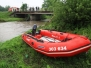 Záchrana osoby z vodního toku 2014